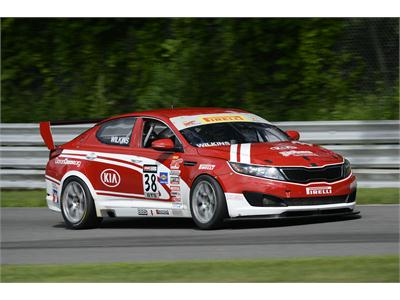 Kia Racing Returns to American Soil Following Top-Five Finish in Toronto and Maintains Second Place in Pirelli World Challenge Point Standings