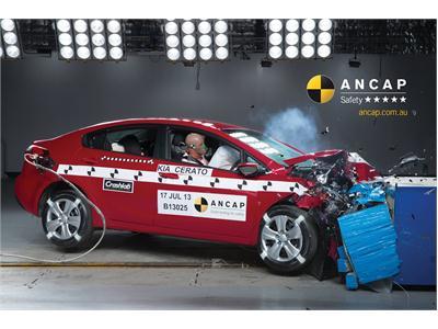 Cerato adds to Kia's 5-star ANCAP collection