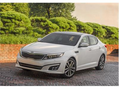 Refreshed Optima sedans join Kia model line-up