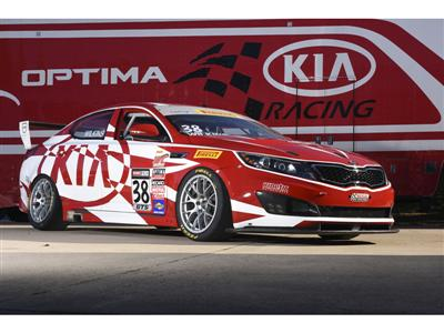 """""""A Day at the Races"""" Theme for Kia at 2014 SEMA Show"""