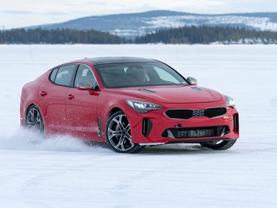 Extreme winter testing regime for all-new Kia Stinger