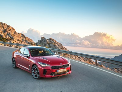 Kia Stinger Shortlisted for 2018 European Car of the Year