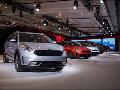 Kia at New York Auto Show 2018