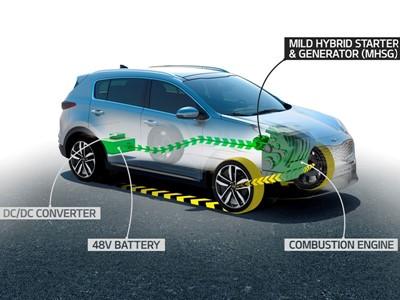 Kia to launch new diesel 48V mild-hybrid powertrain in 2018