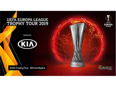 Kia Motors to embark on first-ever UEFA Europa League Trophy Tour