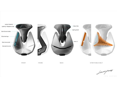 Kia Futuron Concept - Interior Sketch