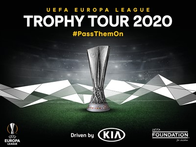 'UEFA Europa League Trophy Tour Driven by Kia' Returns in 2020