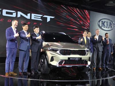 Kia Motors India launches Carnival premium MPV, unveils Sonet compact SUV concept