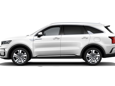 The new Kia Sorento - White Background - Side