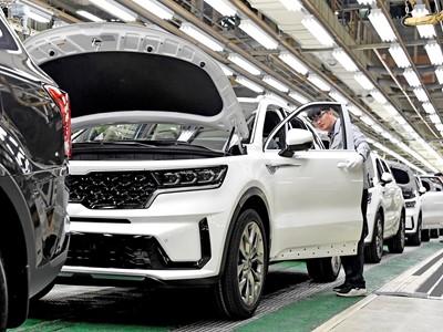 Kia Sorento Production Line
