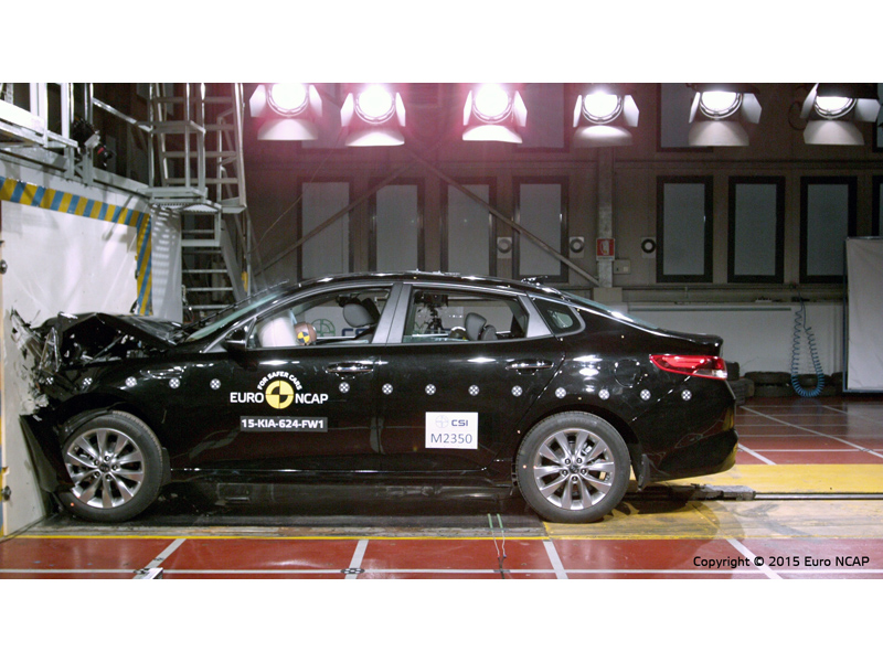 Kia Optima Crash Test