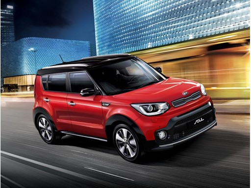 Enhanced 2017 Kia Soul SUV Pack