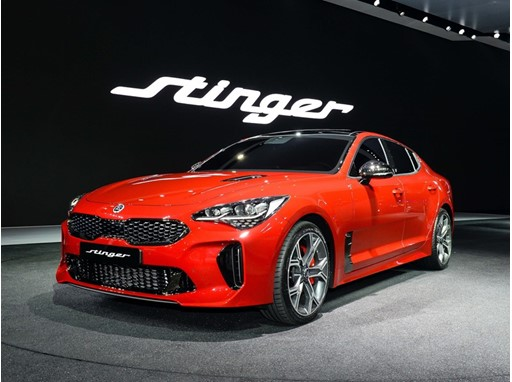 Kia Stinger at Seoul Motor Show 1