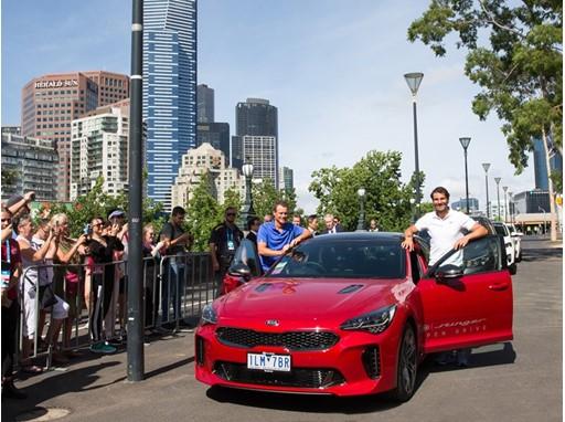 Australian Open - Kia VIK handover