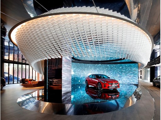Kia BEAT 360 (Interior)