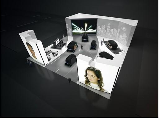 Kia 2019 CES Booth