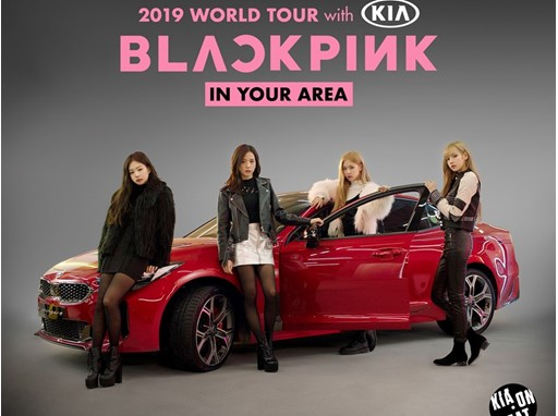 KIA teams up with BLACKPINK