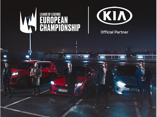 Kia enters Esports Arena as League Of Legends European Championship Sponsor