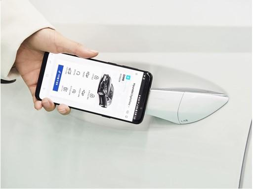 Hyundai Motor Group Develops Smartphone-based Digital Key