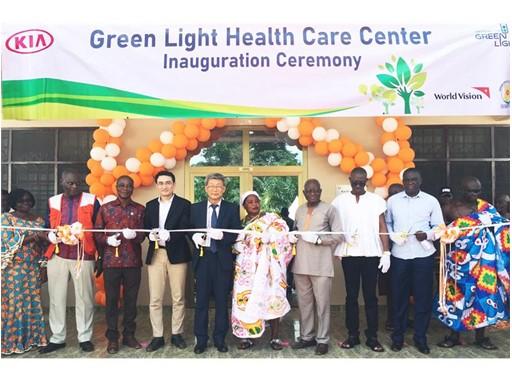 Green Light Motors >> Thenewsmarket Com Kia Motors Boosts Healthcare In Ghana