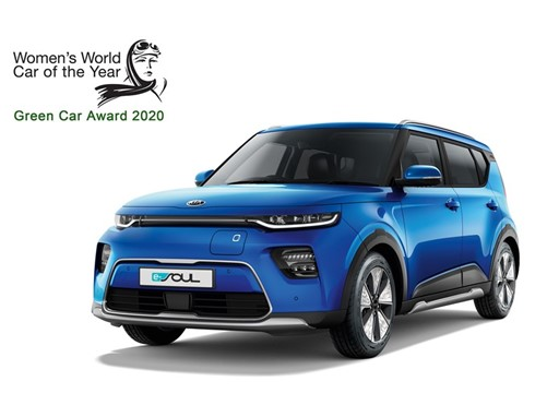 Kia Soul EV - Women's World Green Car of the Year 2019