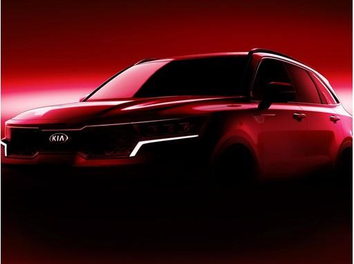 All-new Kia Sorento 2020 - Front