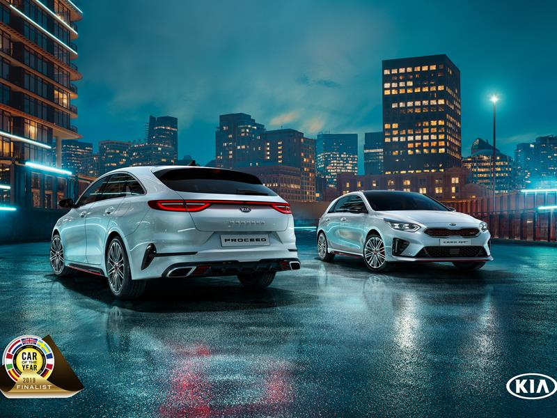 thenewsmarket com : Kia Ceed shortlisted for European Car of the