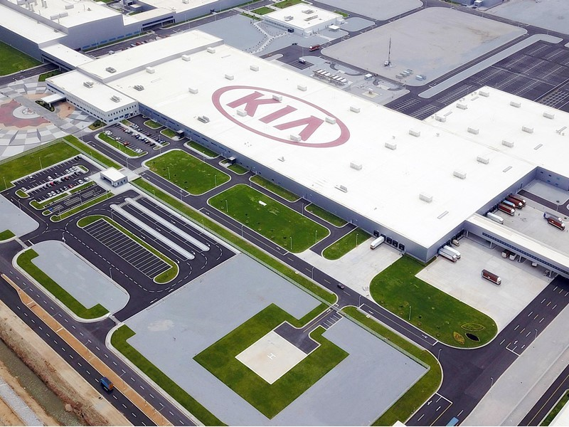 Kia Motors officially opens new India production facility