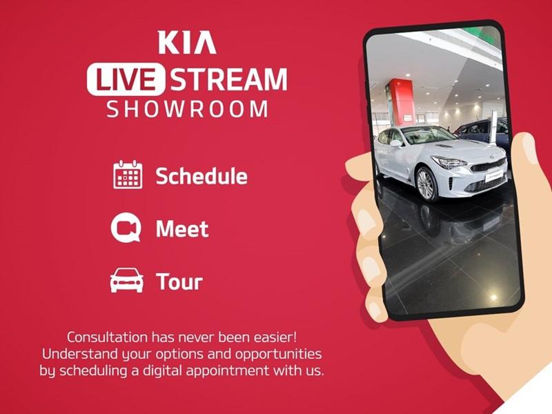 Kia Live Stream Showroom