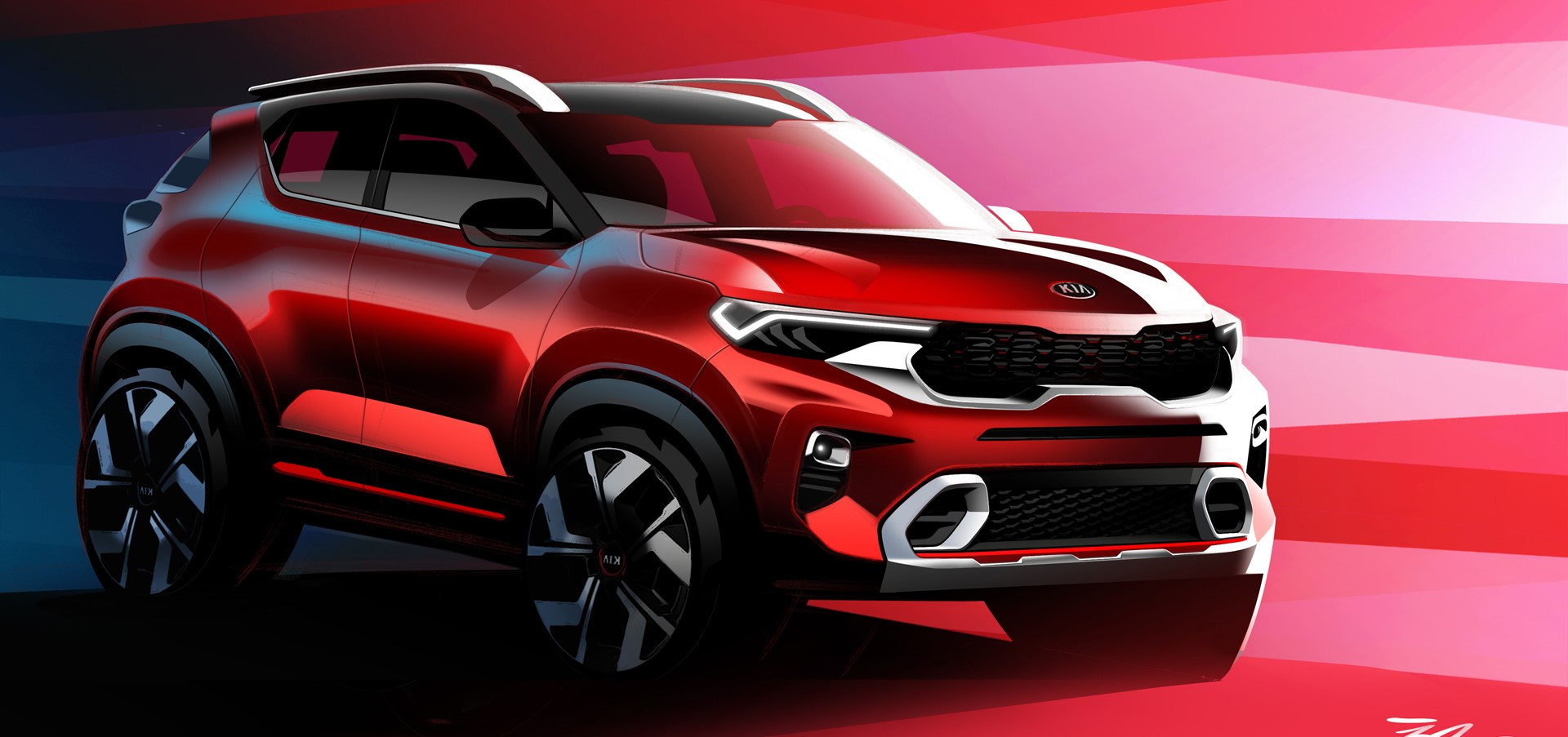 Kia Motors India releases official images of