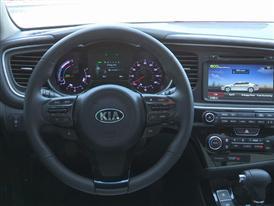 2014 Optima Hybrid Interior