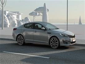 Kia Optima T-Hybrid Show Car