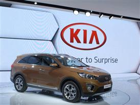 Kia Motors at Paris Motor Show 2014