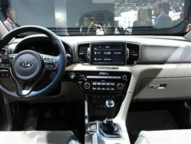 The All New Sportage Interiors