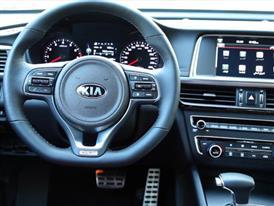 All-new Optima GT Interior (General Market Specification)