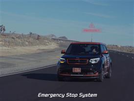 2016 Kia Autonomous Vehicle Test Drive B-Roll