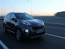 Sportage GT Line Driving 1