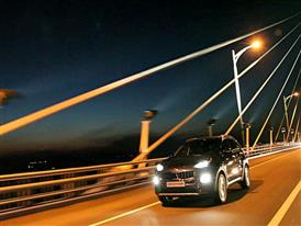 Sportage GT Line Driving 3