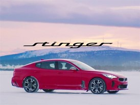 Kia Stinger Winter Testing (with subtitles)