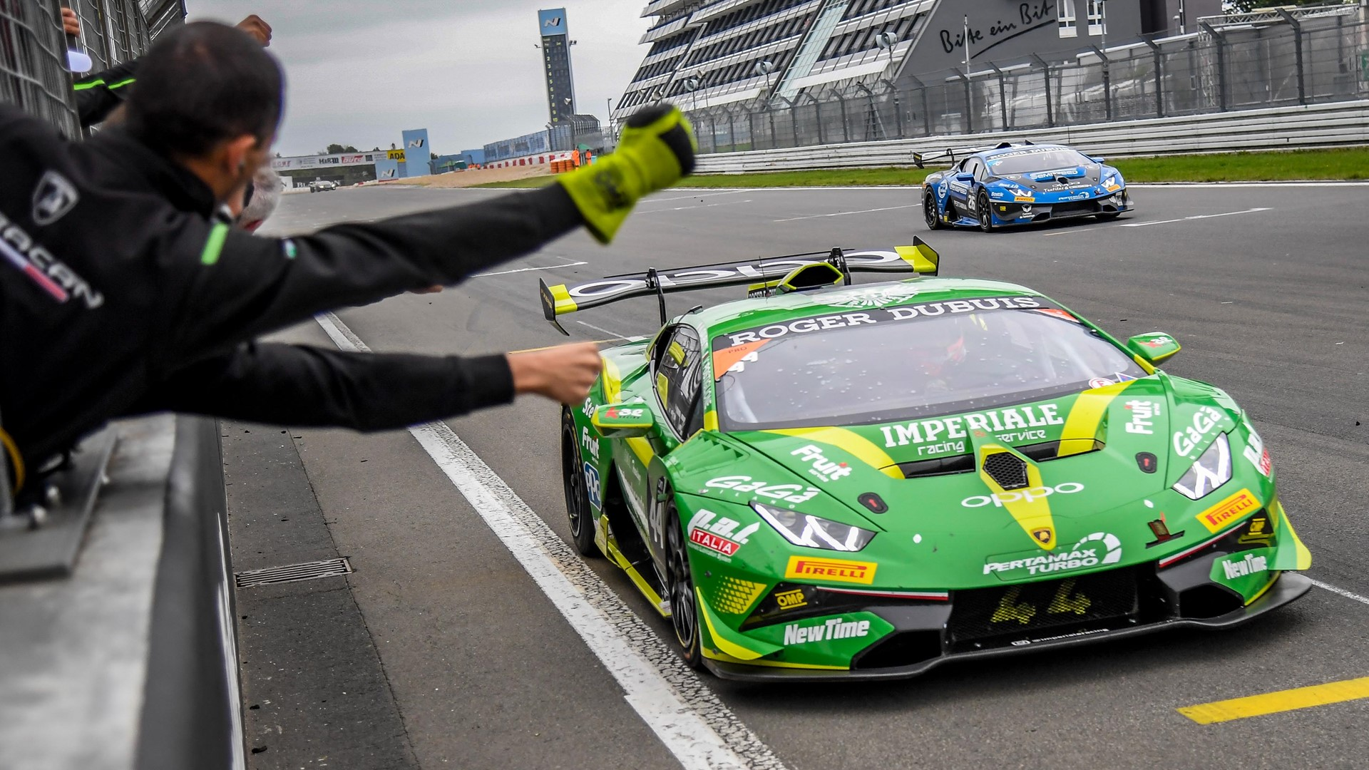 Lamborghini Super Trofeo >> Postiglione Galbiati Complete Lamborghini Super Trofeo