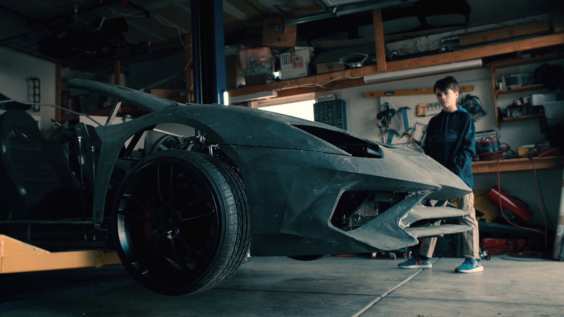 """Lamborghini Christmas video 2019: The search for the """"#RealLover"""" continues with a true story - Image 5"""