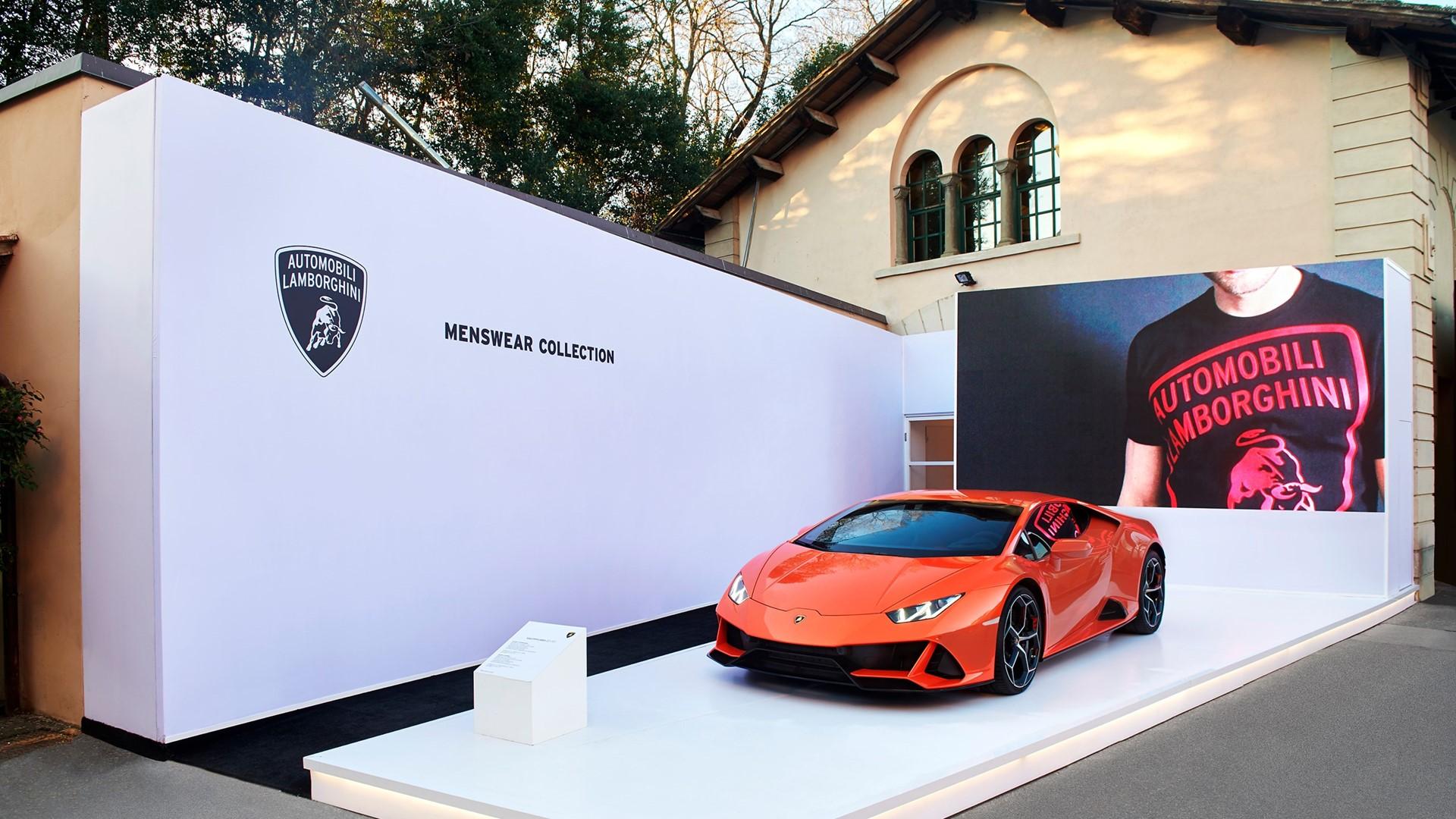 Automobili Lamborghini Menswear Collection Fall Winter 2020 – 2021 at PITTI Uomo 97 - Image 1