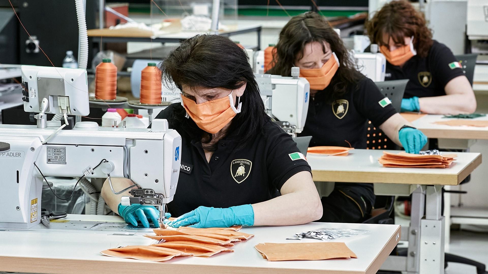 Automobili Lamborghini starts production of surgical masks and medical shields for use in Coronavirus pandemic - Image 8