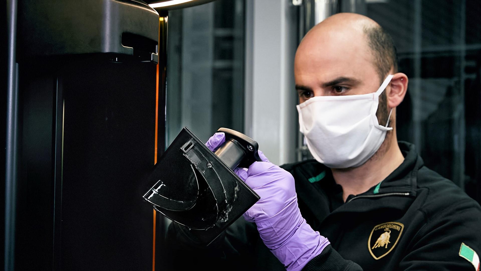Automobili Lamborghini starts production of surgical masks and medical shields for use in Coronavirus pandemic - Image 7