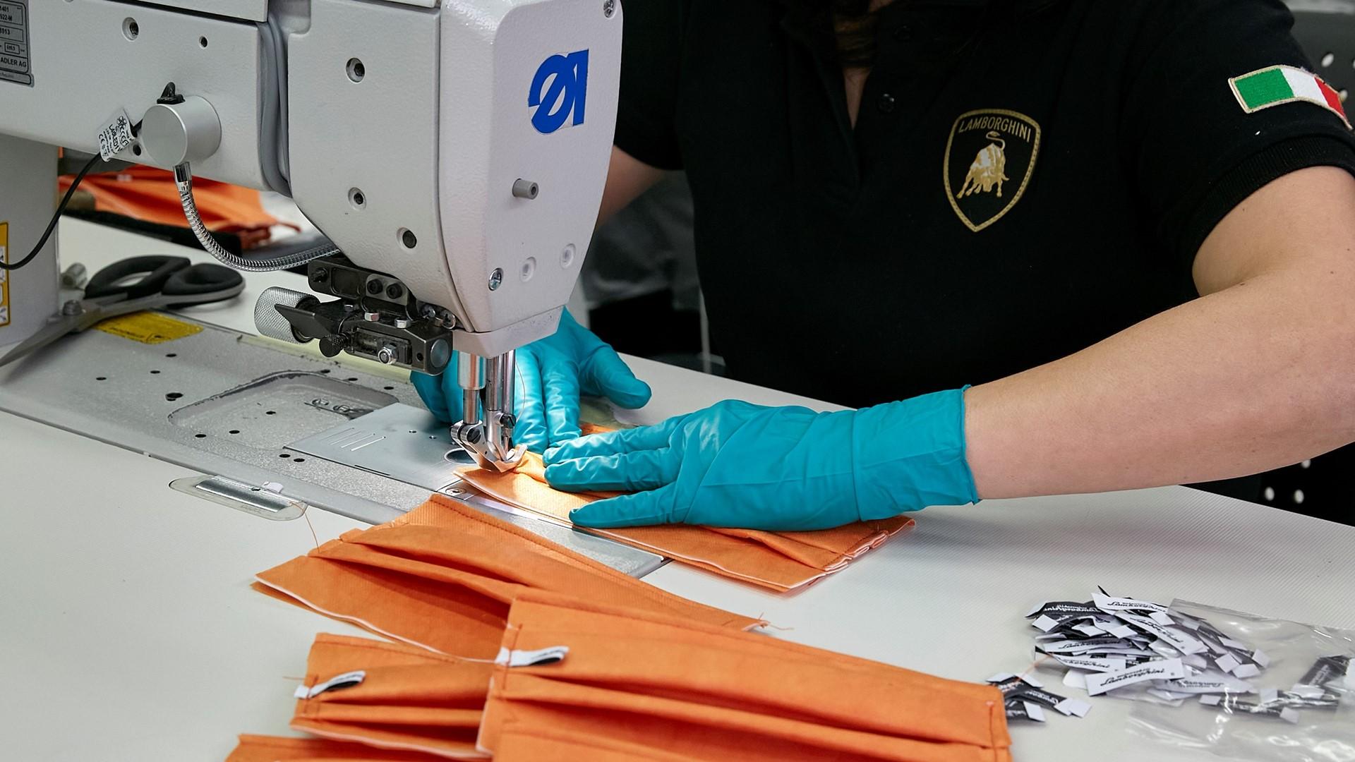 Automobili Lamborghini starts production of surgical masks and medical shields for use in Coronavirus pandemic - Image 5