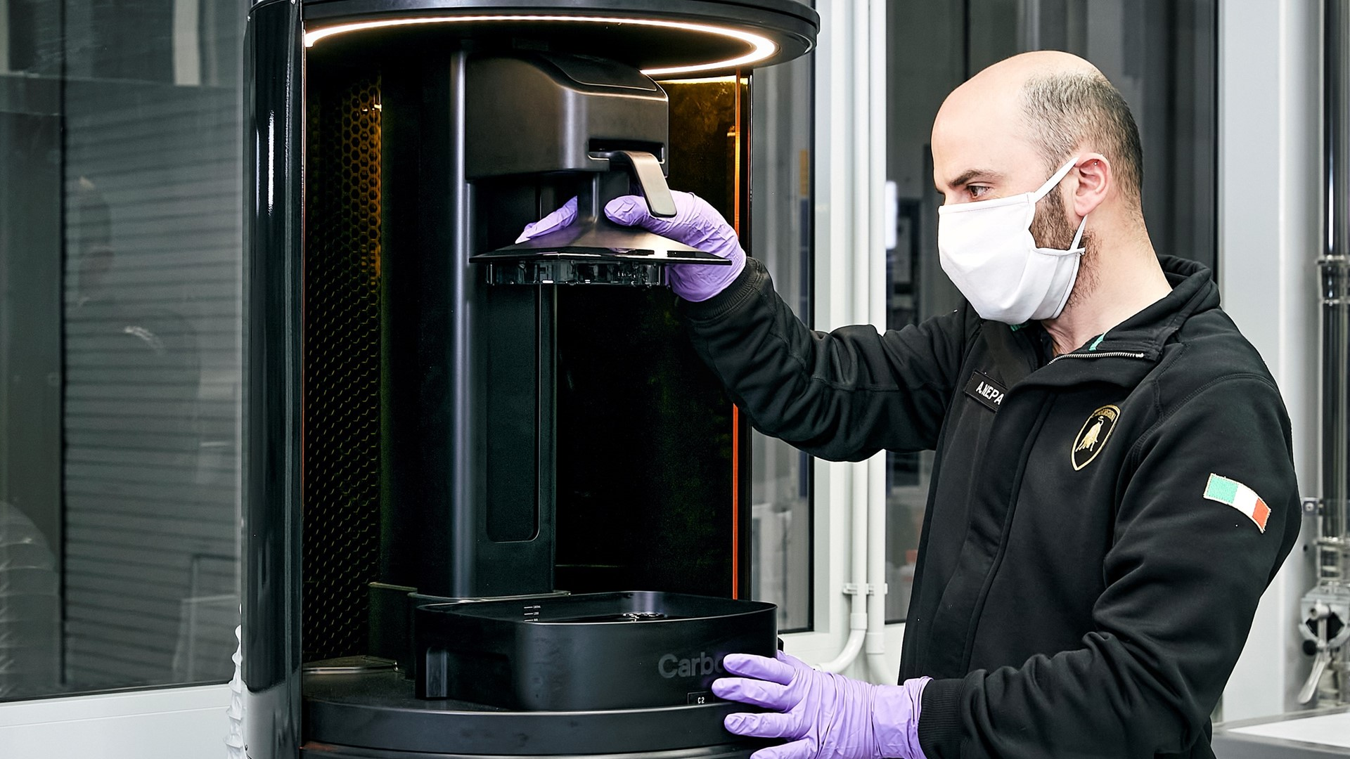 Automobili Lamborghini starts production of surgical masks and medical shields for use in Coronavirus pandemic - Image 1