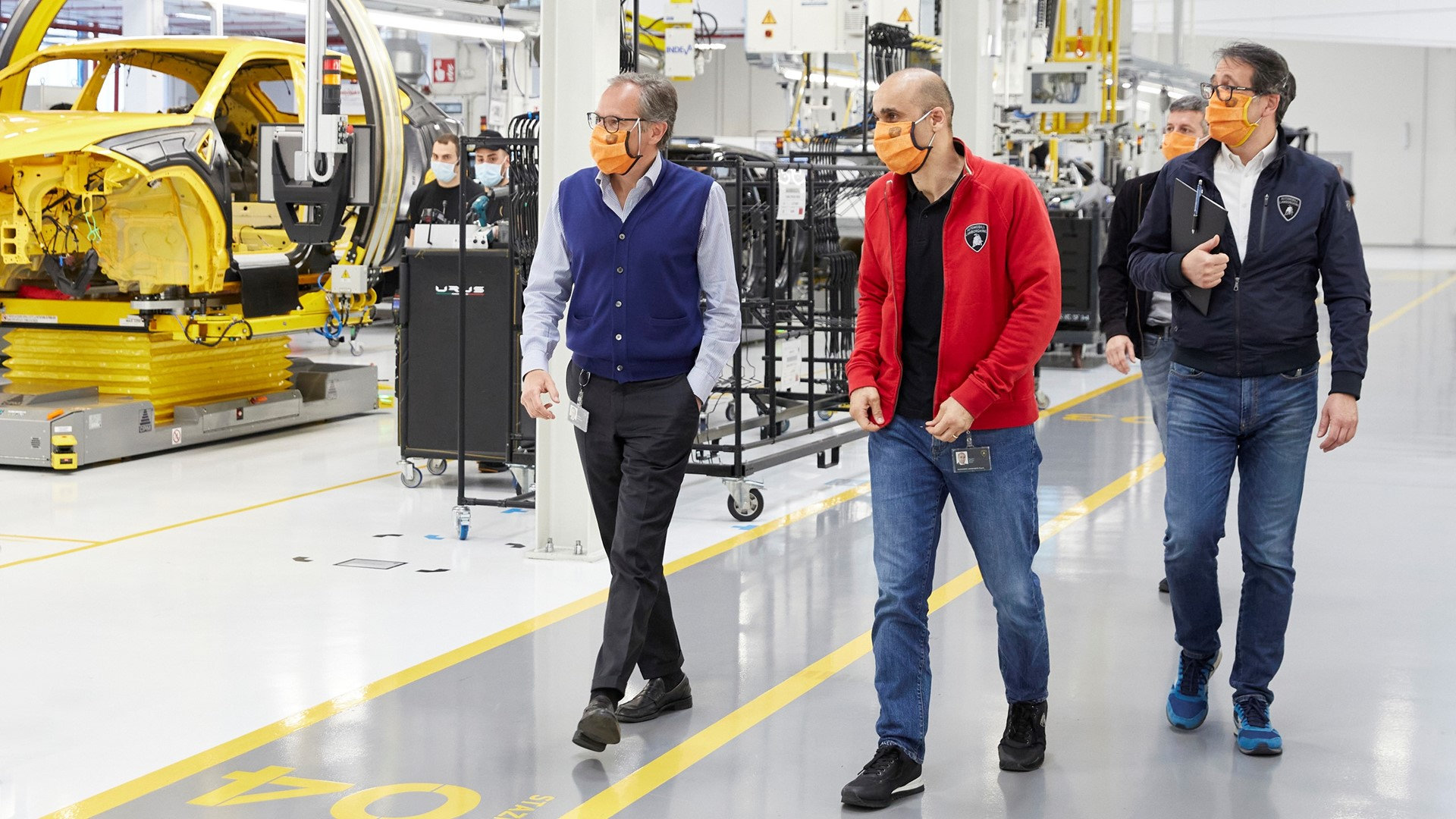 Automobili Lamborghini prepares to restart production on May 4 with people-safety foremost - Image 8