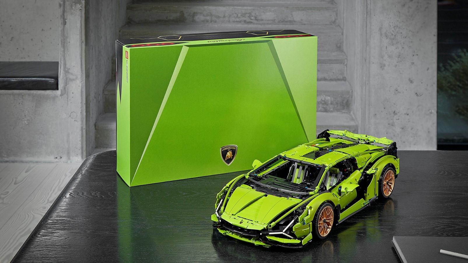Automobili Lamborghini and the LEGO Group recreate the Lamborghini Sián FKP 37: the most powerful Lamborghini produced, in LEGO® Technic™ - Image 7