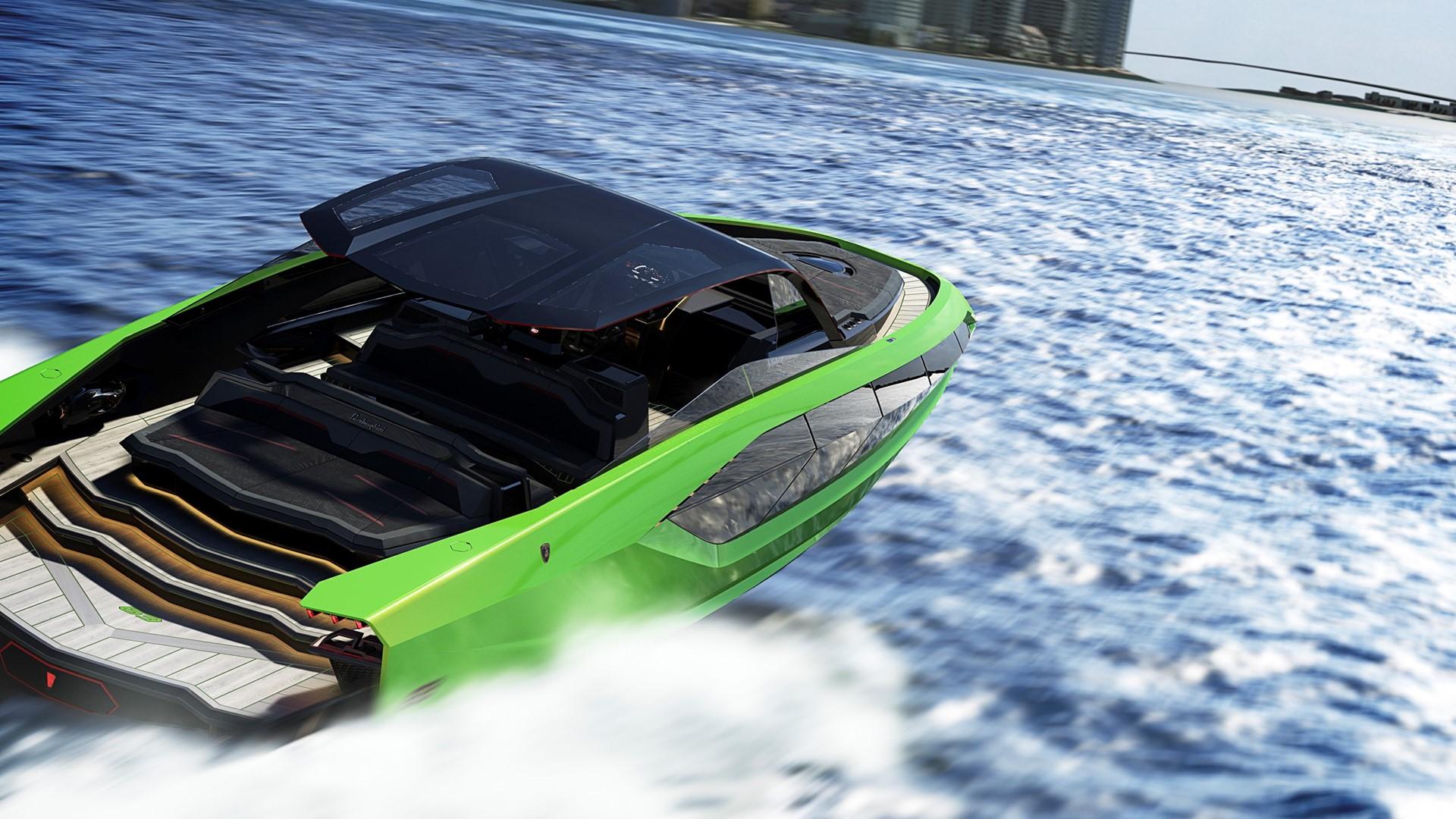 Automobili Lamborghini and The Italian Sea Group unveil the motor yacht 'Tecnomar for Lamborghini 63' - Image 4