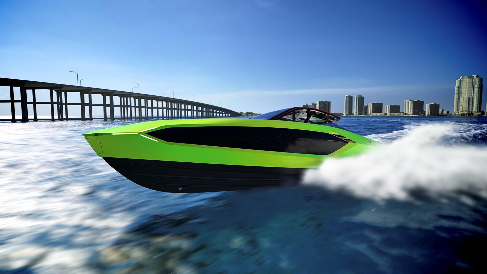 Automobili Lamborghini and The Italian Sea Group unveil the motor yacht 'Tecnomar for Lamborghini 63' - Image 3